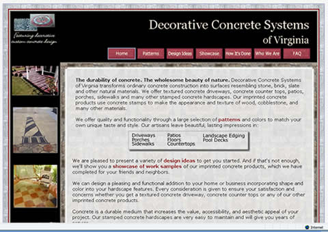 Decorative Concrete Systems of Virginia