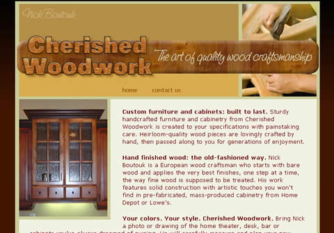 Cherished Woodwork